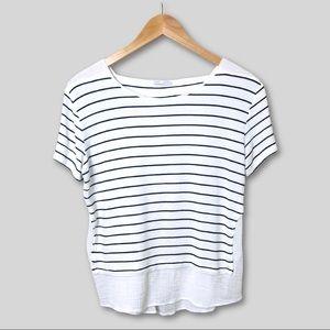 Zara   B&W Striped T-shirt   M